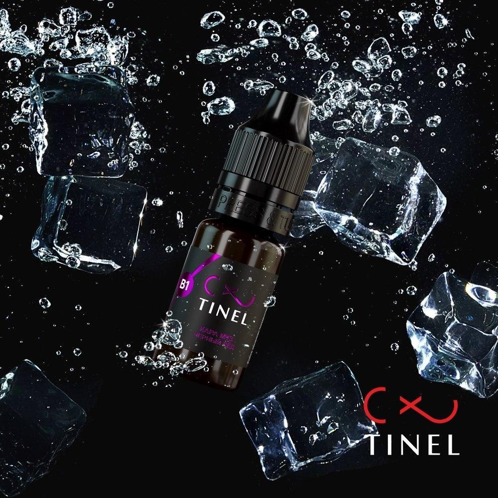 Пигмент для бровей Tinel B1 «Черный лед»