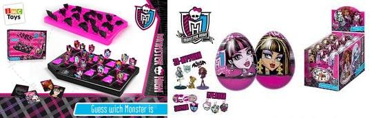 Игры Monster High