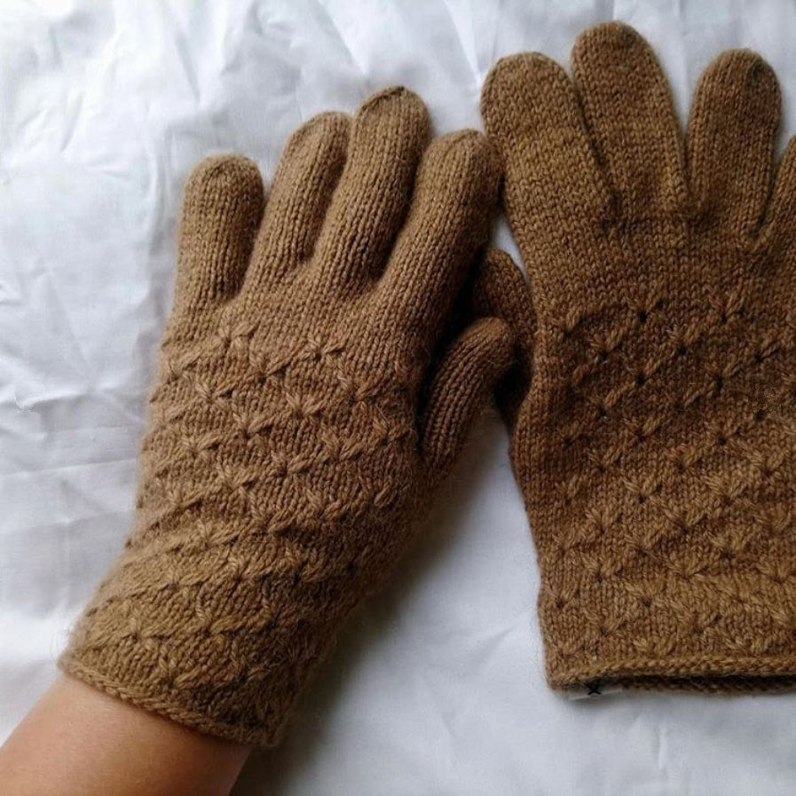 перчатки sarlag пряжа пух