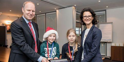 «Цифровая школа 2020»: Webasto поддерживает начальную школу «an der Würm» в Стокдорфе
