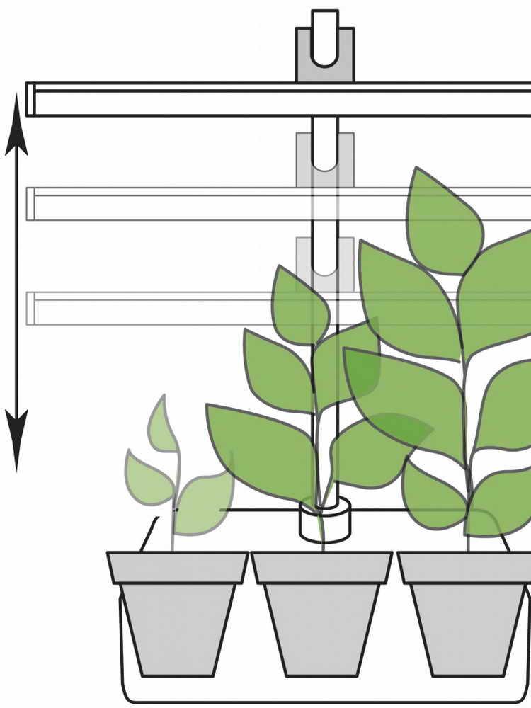 Как устроен растущий светильник