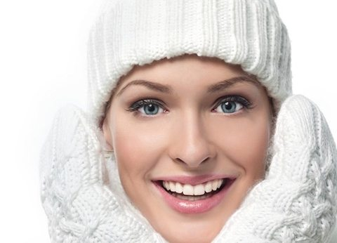 Зимня косметика для лица