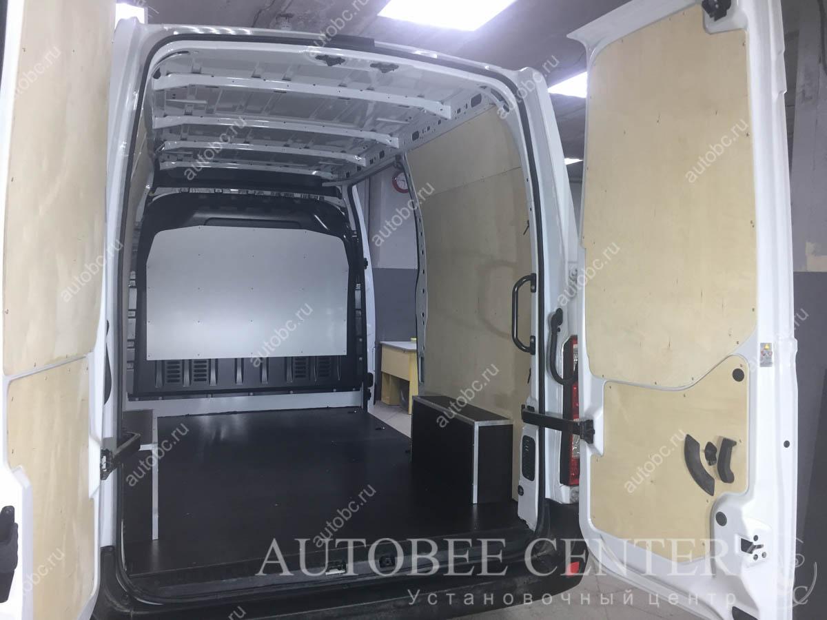 защита кузова фургона фанерой