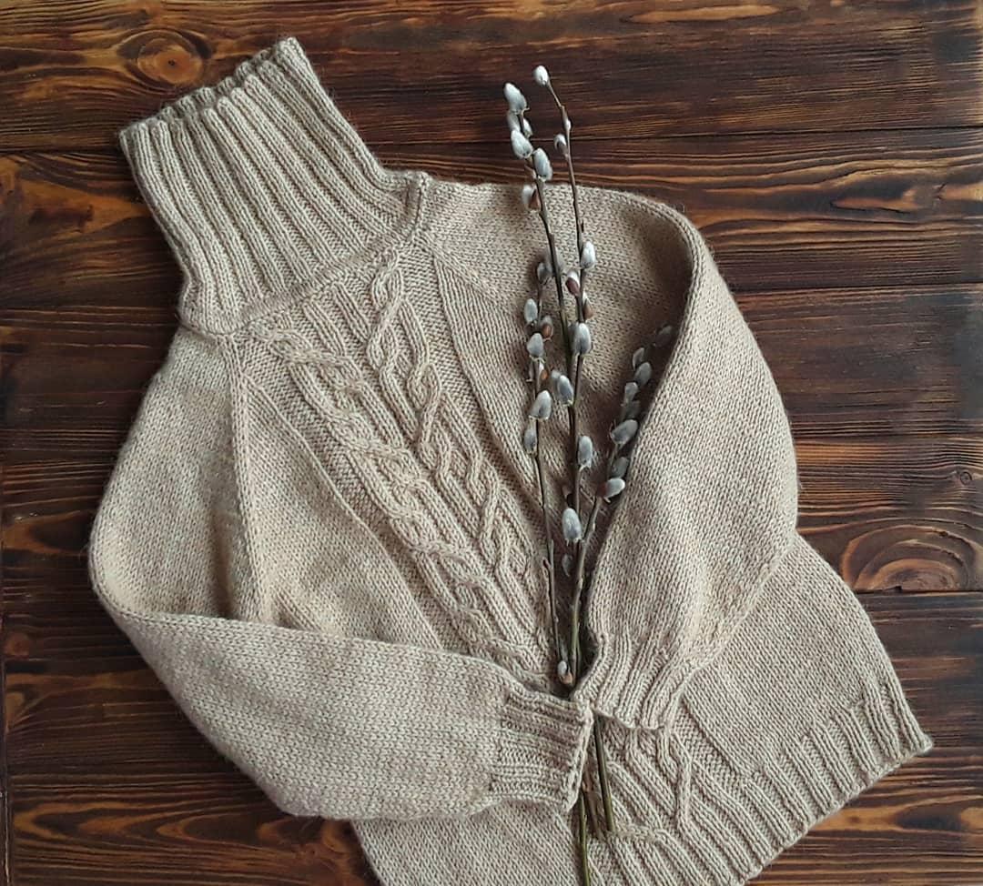 детский свитер из верблюжьего пуха sarlag