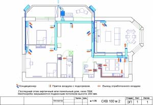 проект вентиляции квартиры