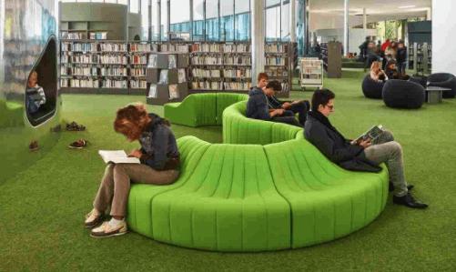 Медиабиблиотека в Тьонвиле. Франция