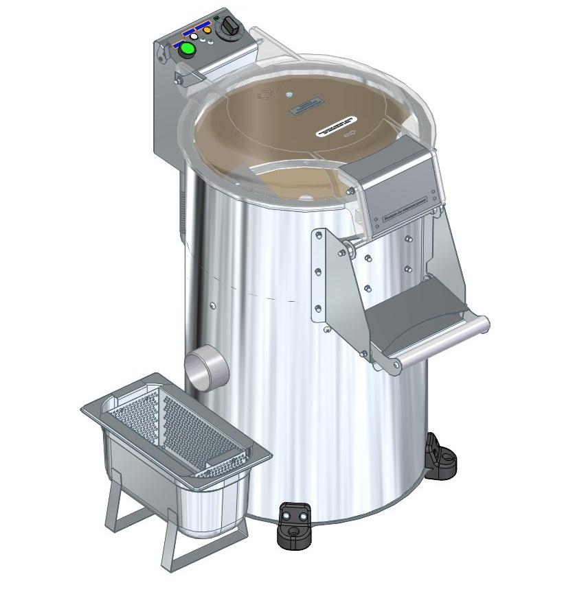 мезгосборник для абразивно-механических систем очистки картофельных клубней