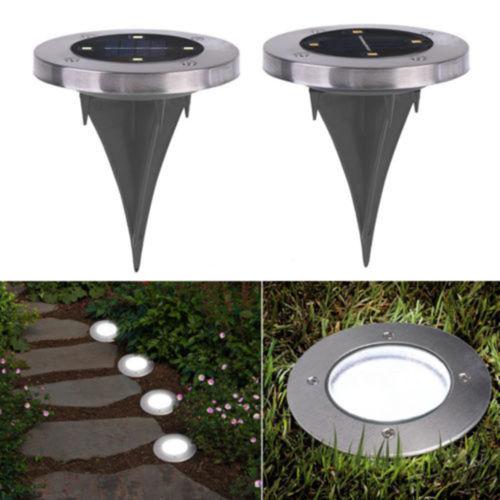 Светильник Solar Pathway Light 4 led на солнечных батареях садовый, водонепроницаемый