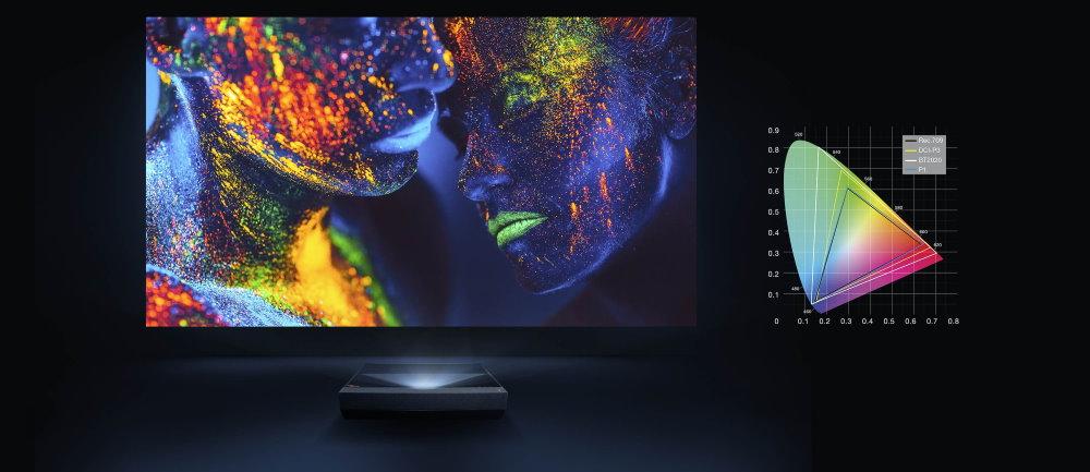 Ультра-короткофокусный проектор Optoma UHZ65UST 4K