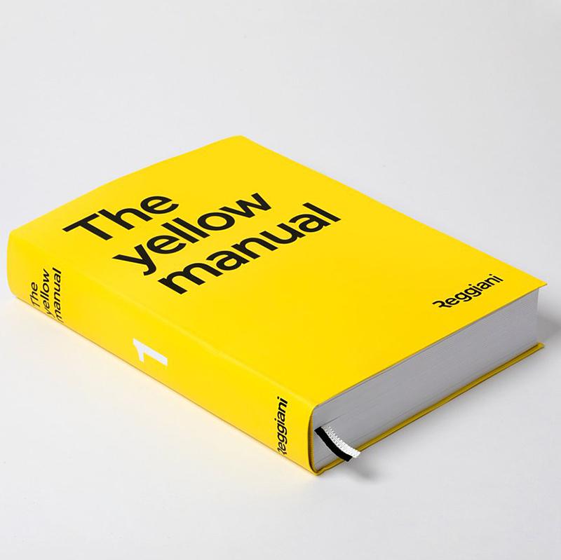Новый каталог The Yellow Manual от Reggiani