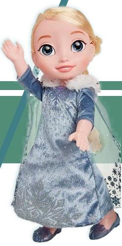Кукла Эльза из Холодное сердце (маленькая 35 см)