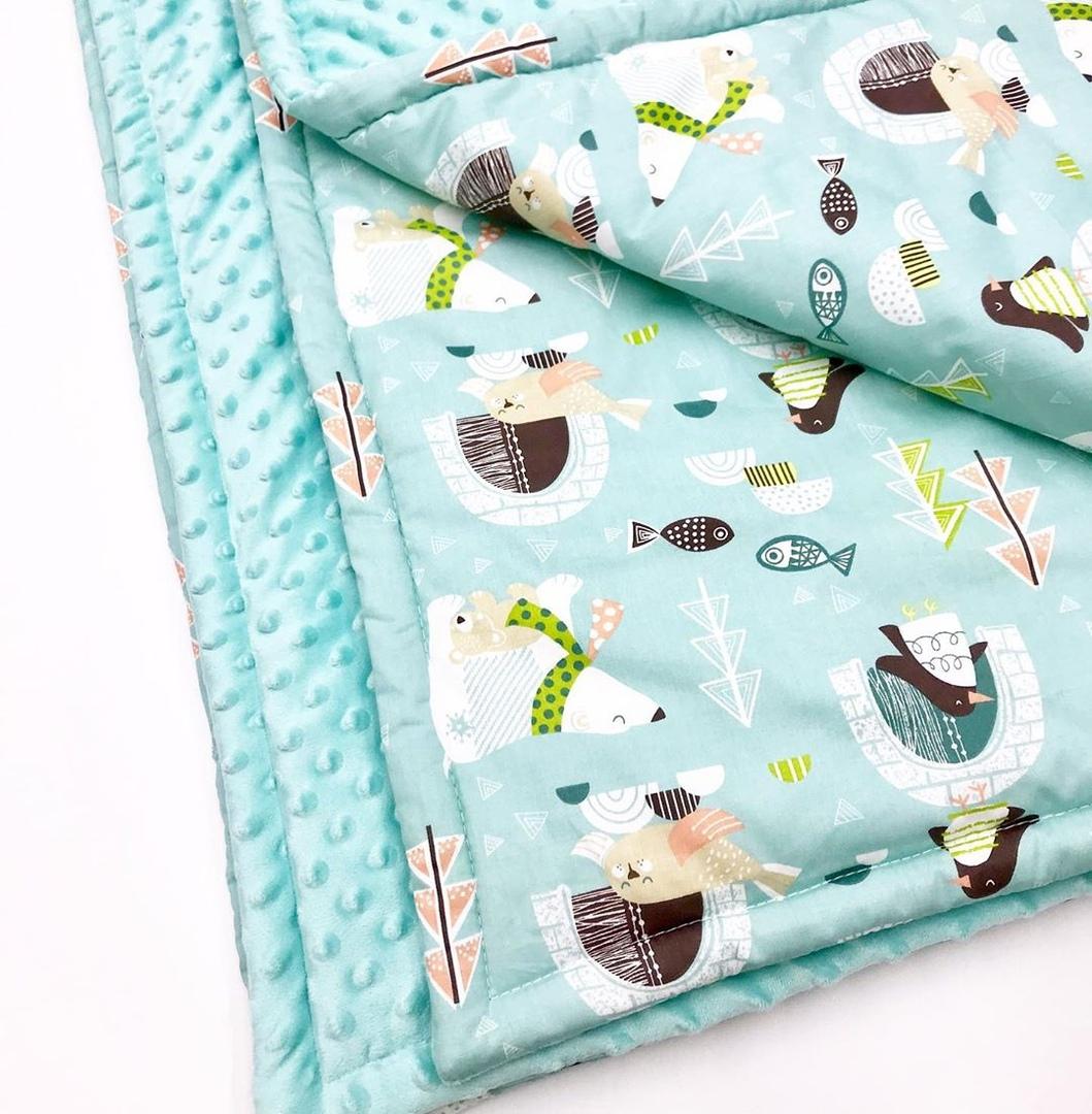 Купить ткани для пошива одеяла новорожденному