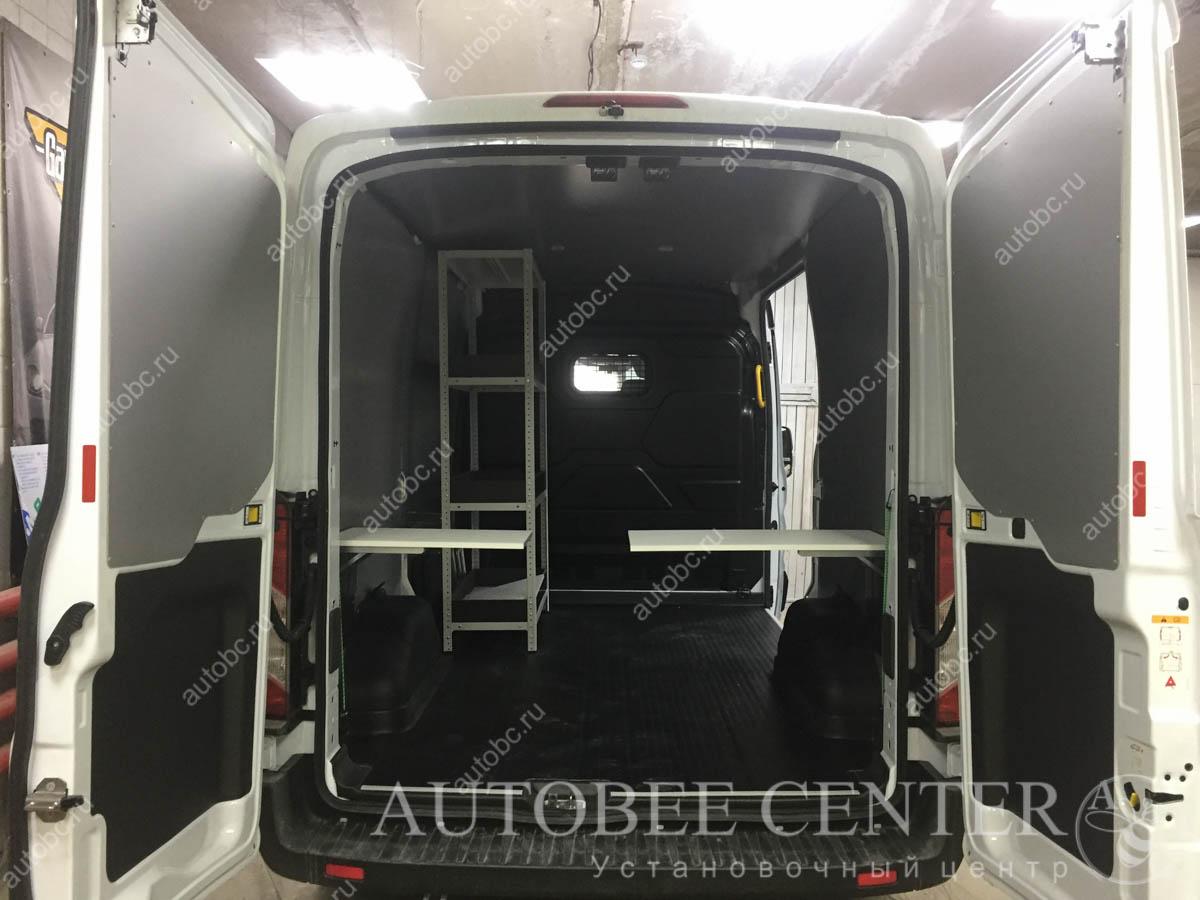 защита кузова фургона композитом