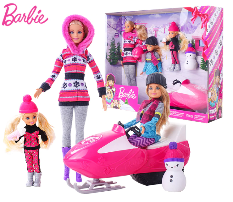 Barbie Sisters Snow Fun Doll Gift Set (FDR73)