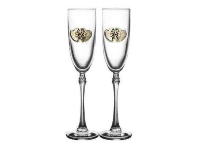 Свадебные бокалы и фужеры