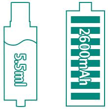 Больше ёмкость жидкости и аккумулятора iJust 2 Kit