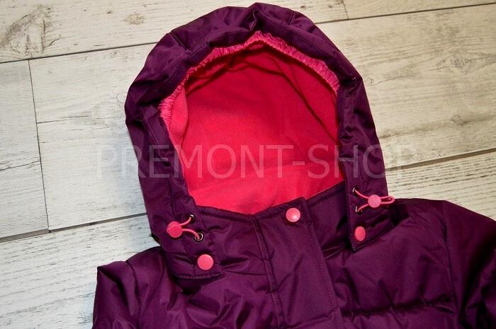 Капюшон на пальто Premont Ягодное смузи