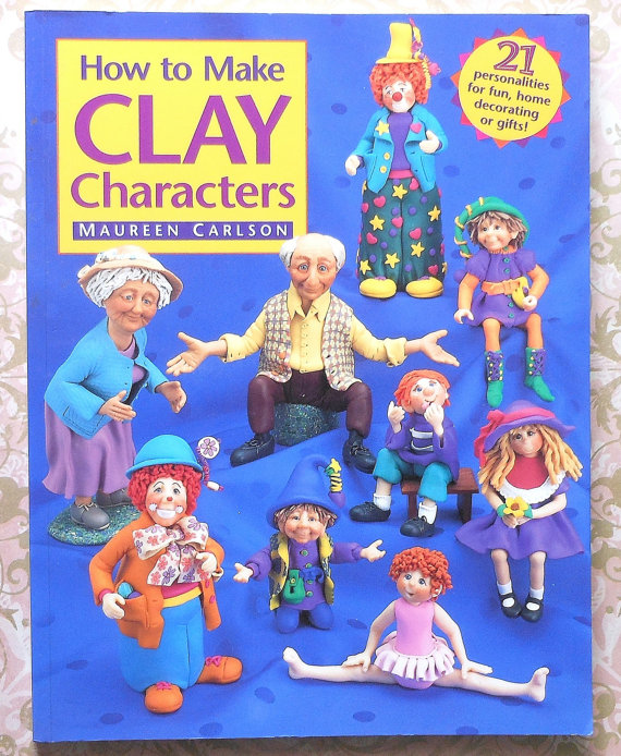 "Книга ""How to Make Clay Characters"""