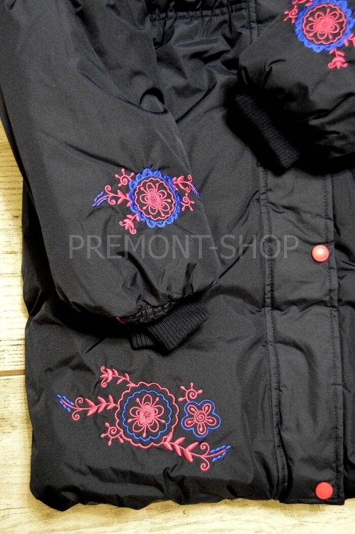 Вышивка на зимнем пальто Premont Квилт
