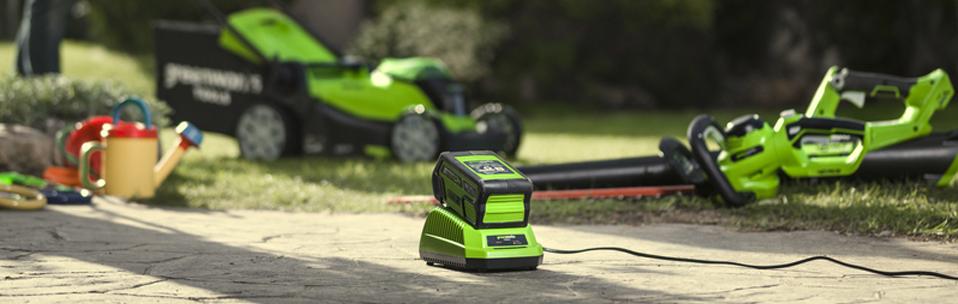 Секрет высокой мощности аккумуляторной техники Greenworks