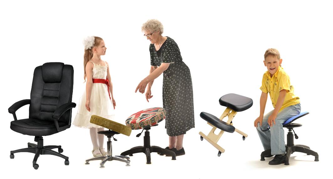 Модель какого стула лучше для школьника? Танцующий Стул для улучшения осанки