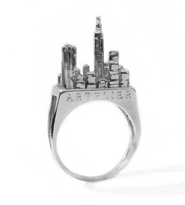 Кольцо NYC Silver от Artelier MX