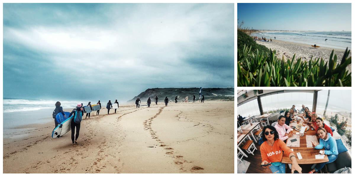 3 день серф-тура в Португалию