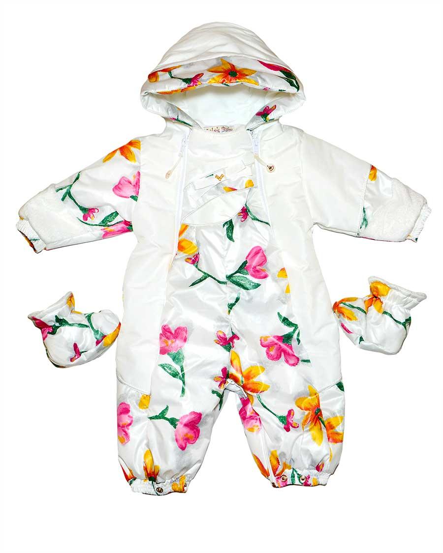 Весенний комбинезон для новорожденных.