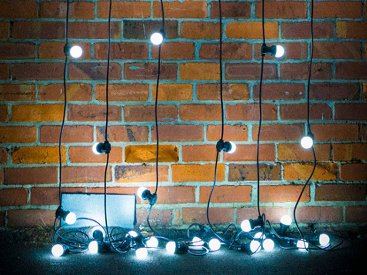 Гирляндв Белт лайт Светодиодная LED