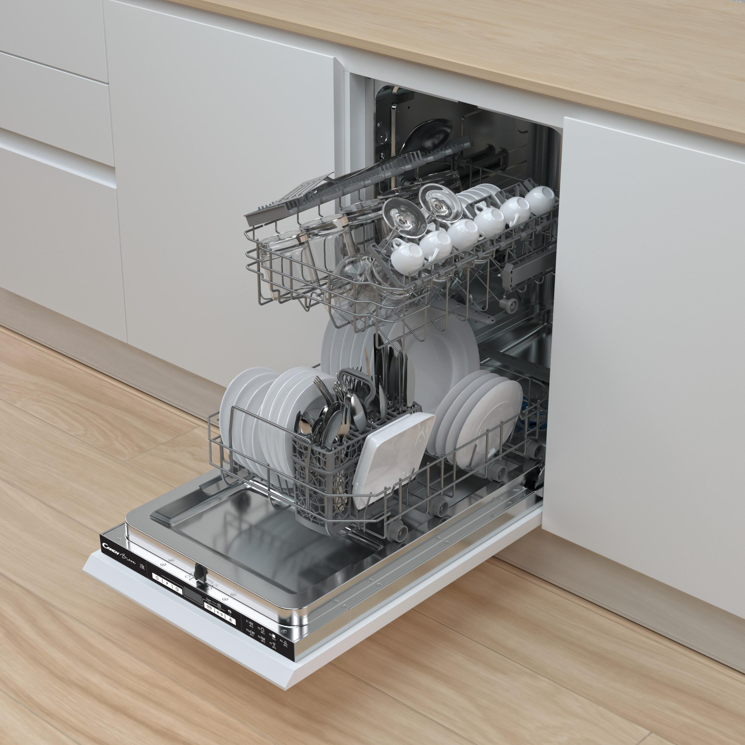 Классификация посудомоечных машин по габаритам
