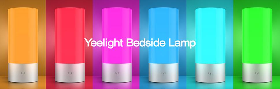 задействуй всю цветовую гамму Yeelight Bedside Lamp