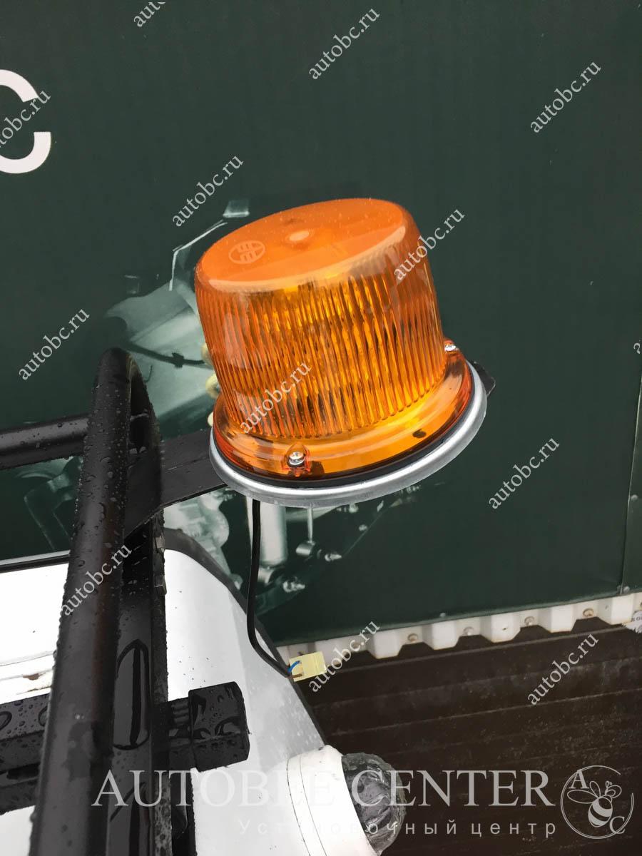 Газель NEXT (установка проблесковых маяков)