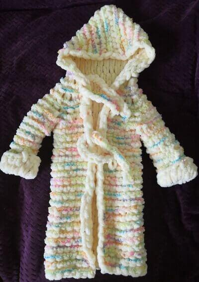 Детский халат из Пуффи