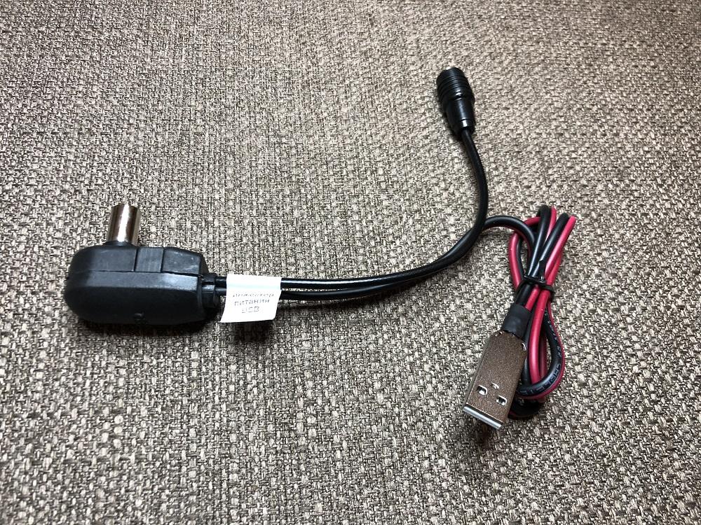 Как подключить инжектор питания USB для активной телевизионной антенны