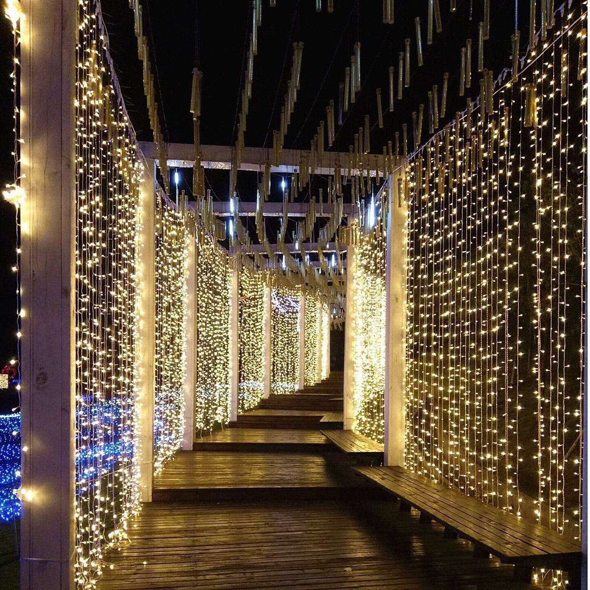 Светодиодные гирлянды LED 3 на 1,5 метра лед