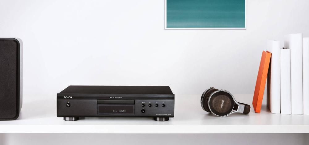 CD проигрыватель Denon DCD-600NE с акустикой