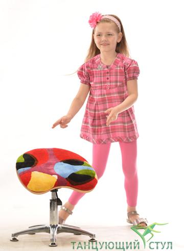 Как правильно сидеть на Танцующем стуле для школьника?