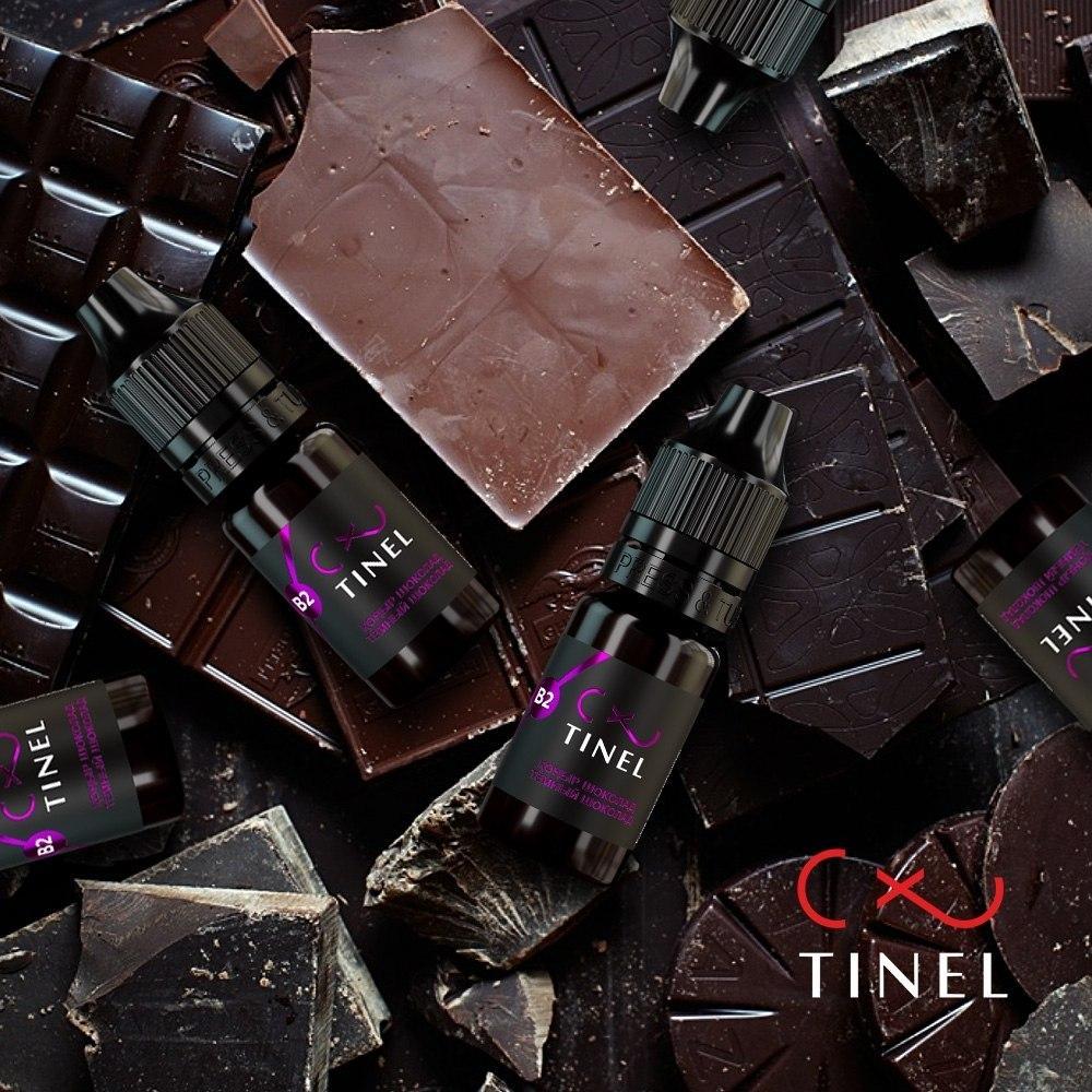Пигмент для бровей Tinel B2 «Темный шоколад»