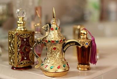 Флаконы арабских духов