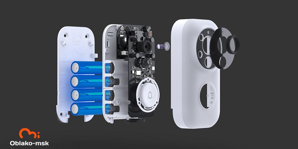Умный дверной видео-звонок Xiaomi Zero Intelligent Video Doorbell