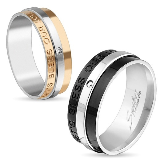 Фото кольца из ювелирной стали