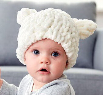 Детская шапочка из Пуффи
