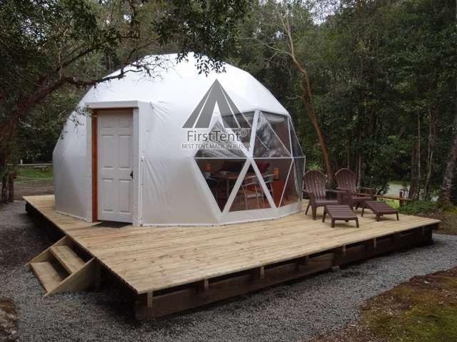 глэмпинг шатер с дверью