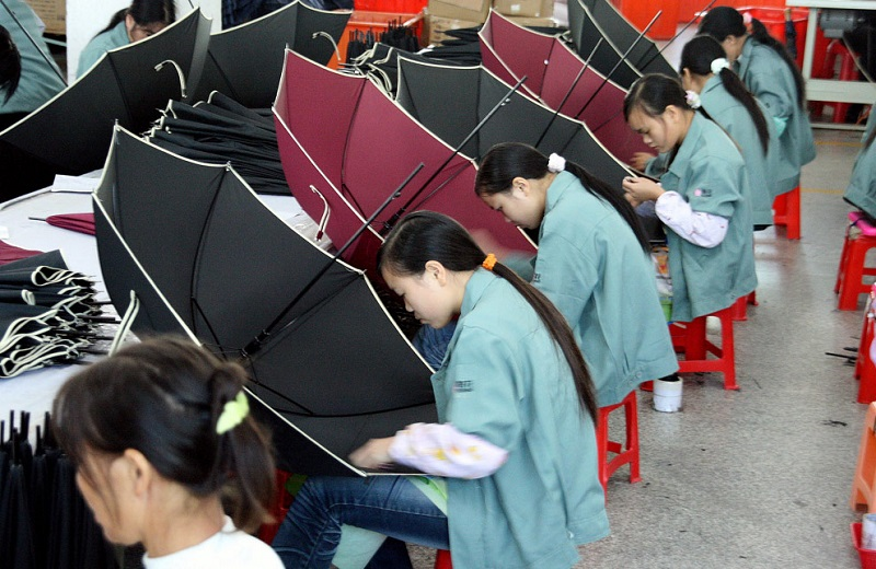 китайцы за работой