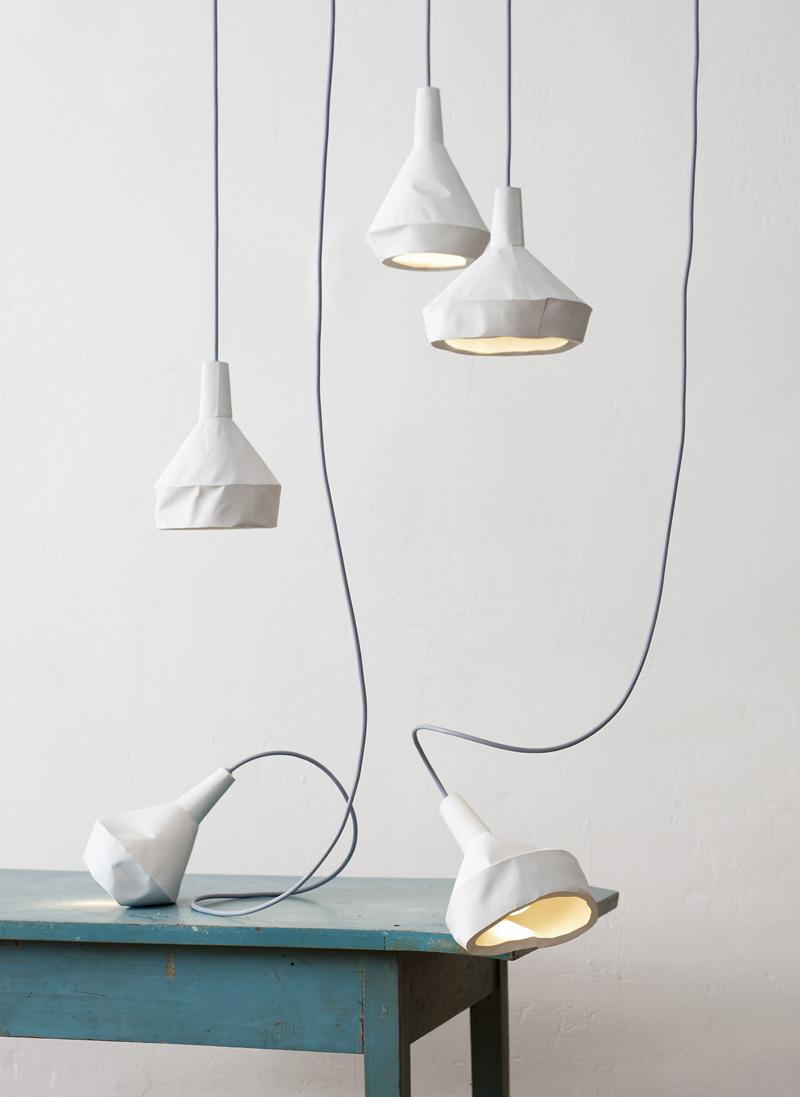Светильники Like Paper от Dua Collection