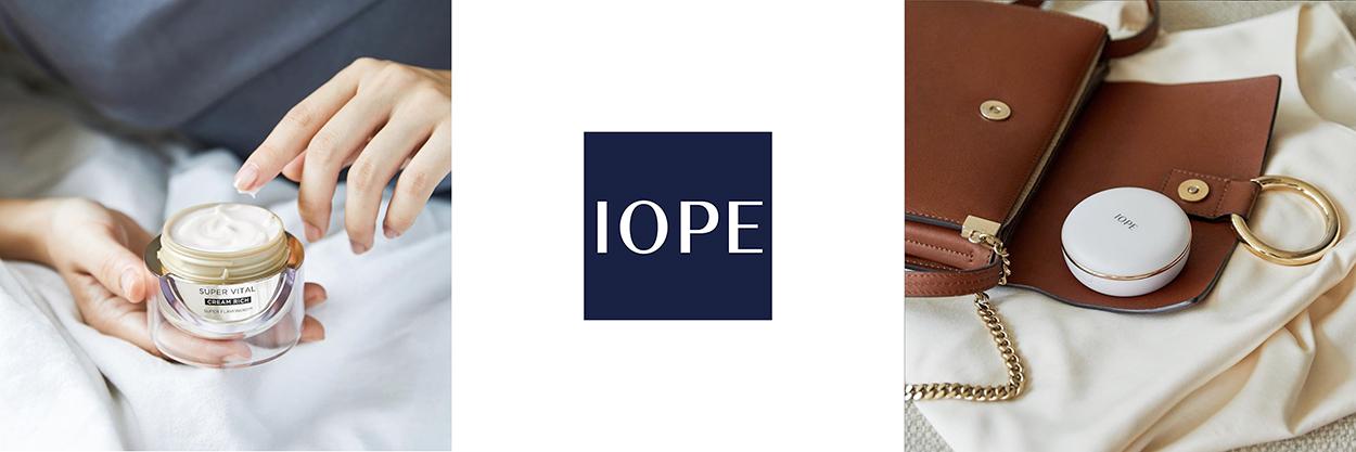 Раздел корейской косметики IOPE