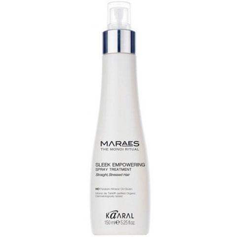 Восстанавливающий несмываемый спрей для прямых поврежденных волос