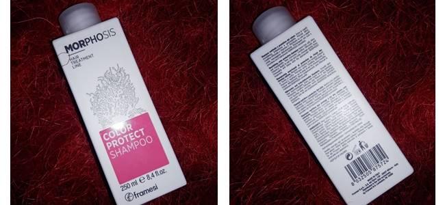 Фотообзор на шампунь для окрашенных волос Framesi
