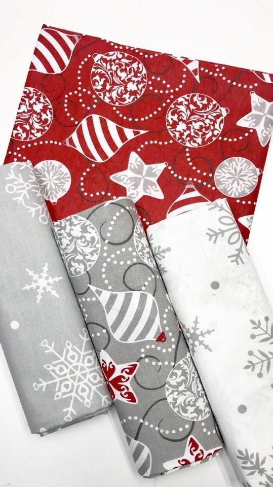 Ткани для новогоднего рукоделия