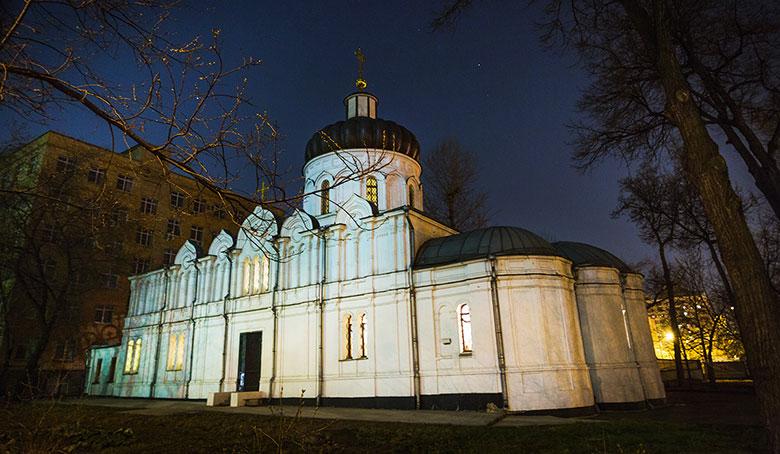 Храм из моего окна Алексия человека Божия